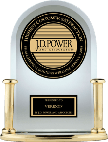 Image of J.D. Power award.