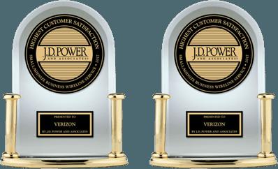 Image of J.D. Power award.