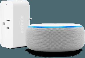 Amazon Dot with Smart Plug