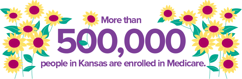 More than 500,000 people in Kansas are enrolled in Medicare