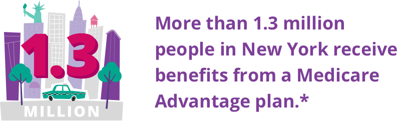 More than 1.3 million people in New York received benefits from a Medicare plan