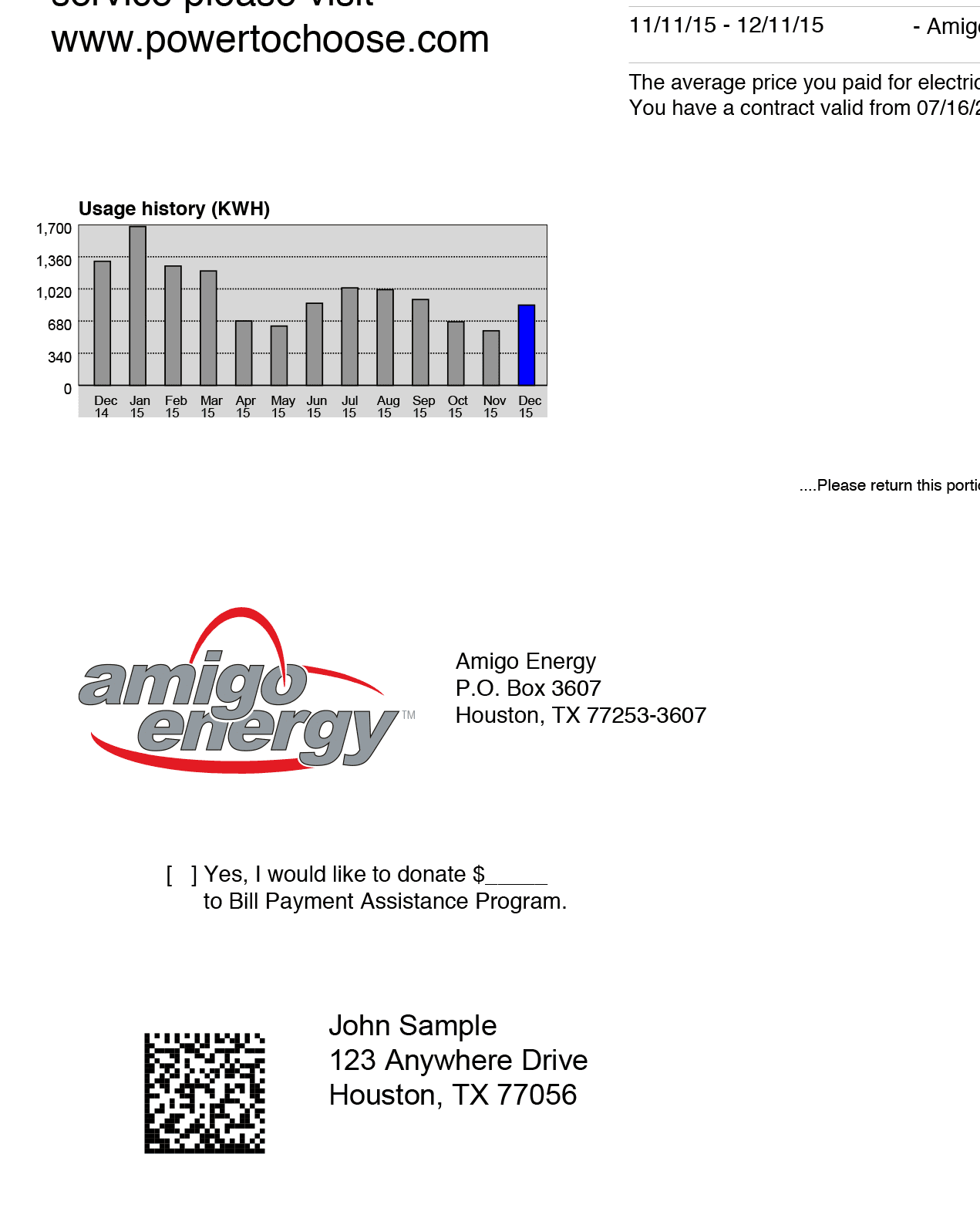 855-449-1899 Customer Support: Understanding My Bill | Amigo Energy