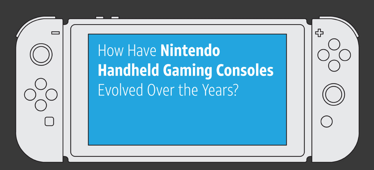 How have Nintendo handheld gaming consoles evolved over time?