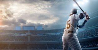 MLB Player at Bat