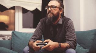 Man Gaming