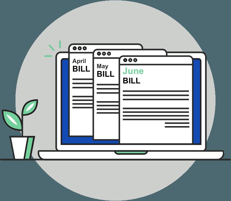 bills illustration