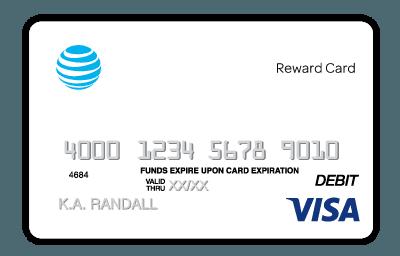 $100 Visa Reward Card.