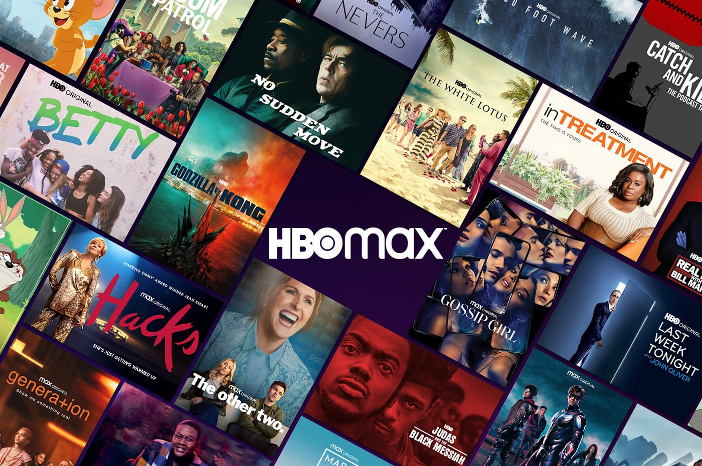 various shows on hbo max