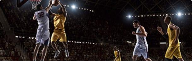 Basketball jump shot.