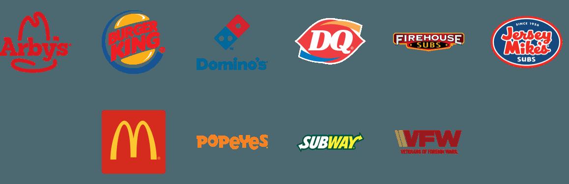 national accounts logos