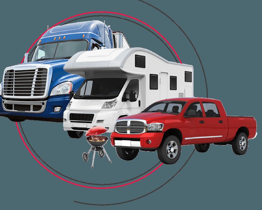 Truck, RV, Tailgate