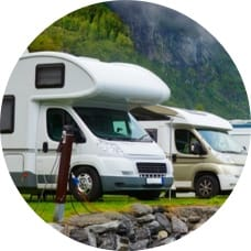 Satellite TV for RV Camping