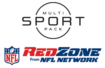 multi sport pack and NFL RedZone