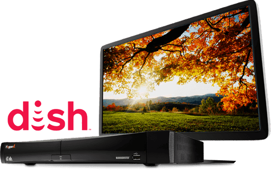 dish hopper with tv