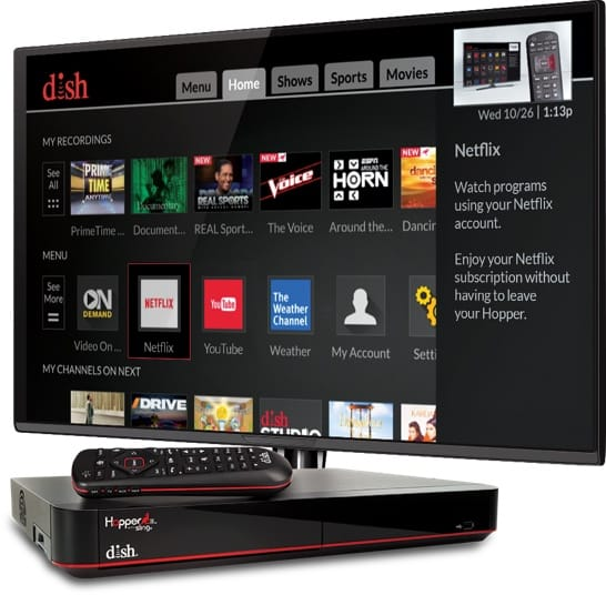 4K Ultra HD with DISH