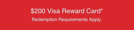 visa reward 200