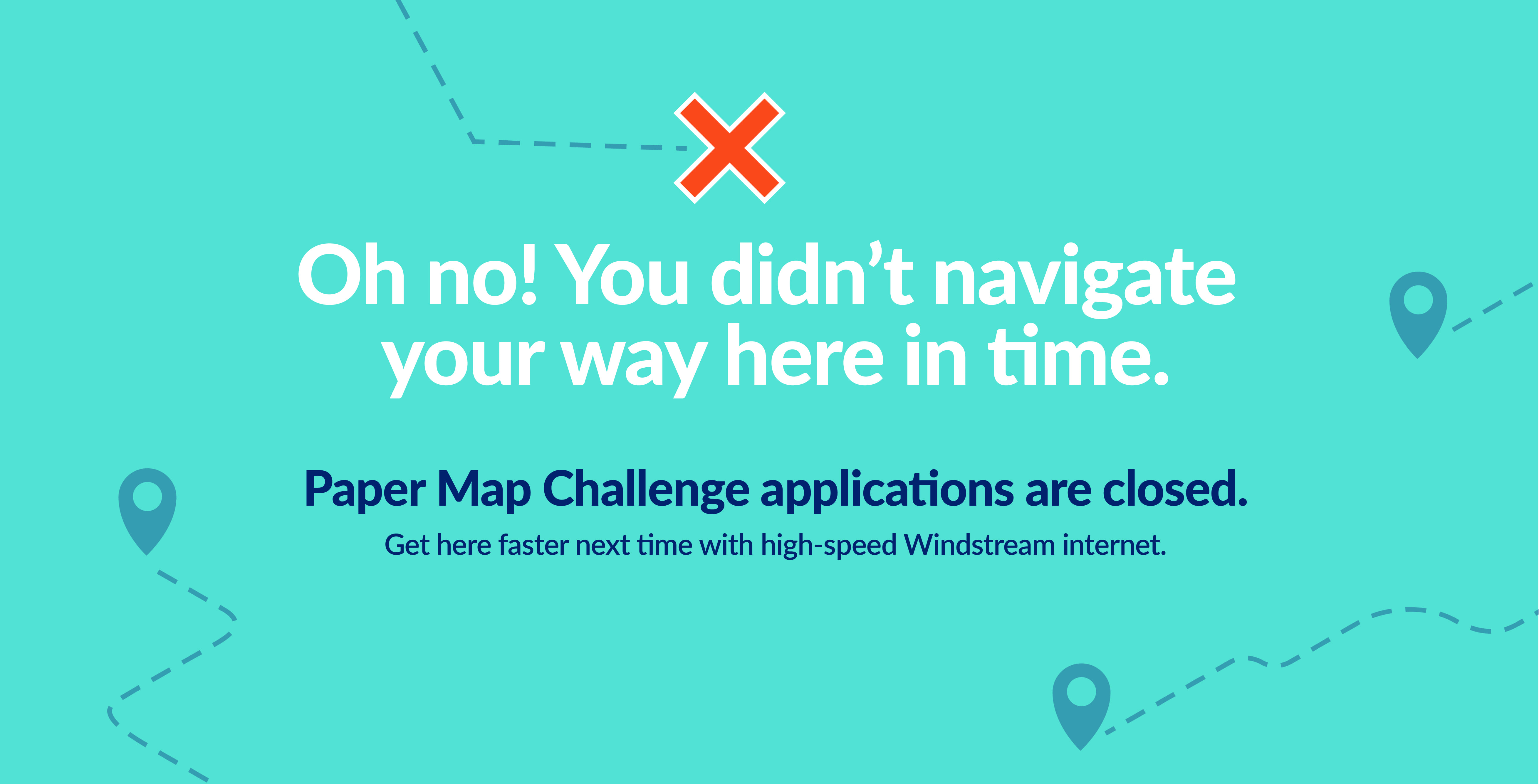 paper-map-challenge-closed