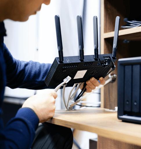 installing internet modem