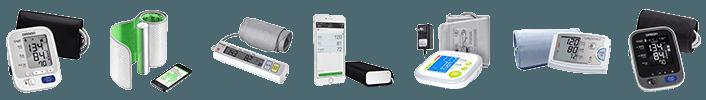 Assortment of Blood Pressure Monitors