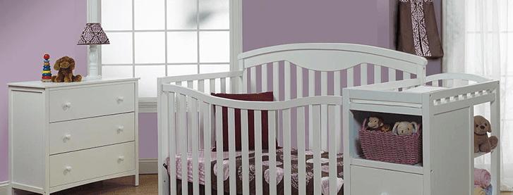 Sorelle Presley 4 In 1 Convertible Crib U0026 Changer