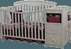 Sorelle Presley 4-in-1 Convertible Crib & Changer