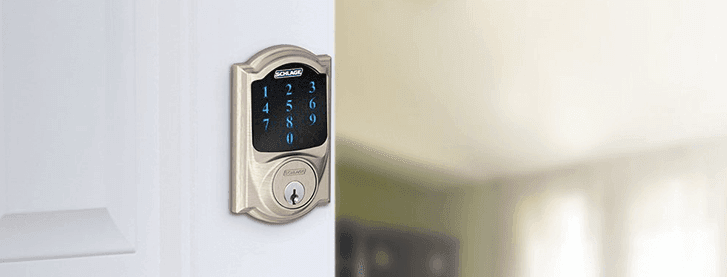 Schlage Camelot Touchscreen Deadbolt & Best Smart Locks 2018 | SafeWise Buyeru0027s Guide