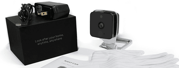 Discreet webcam