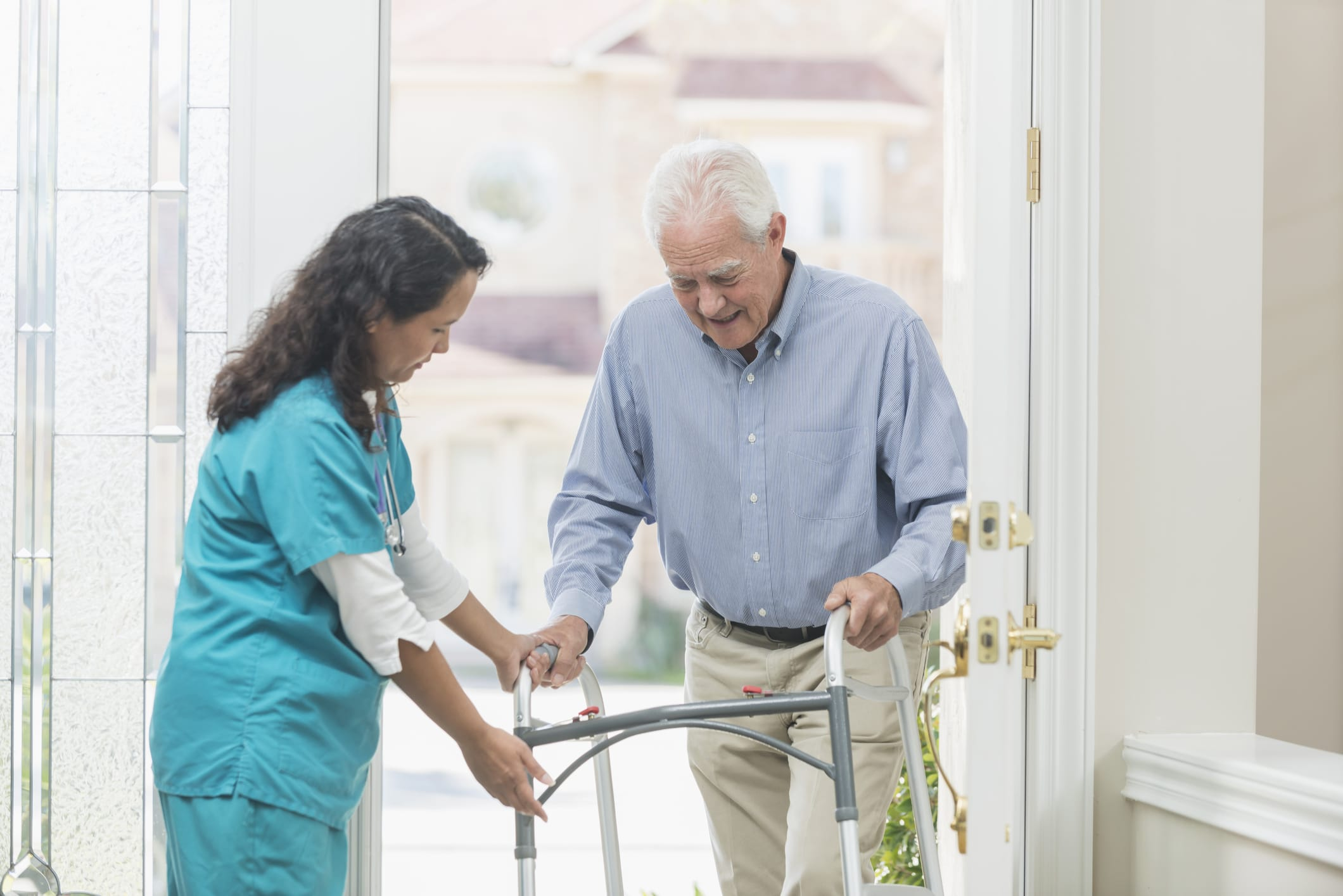 is home health care tax deductible