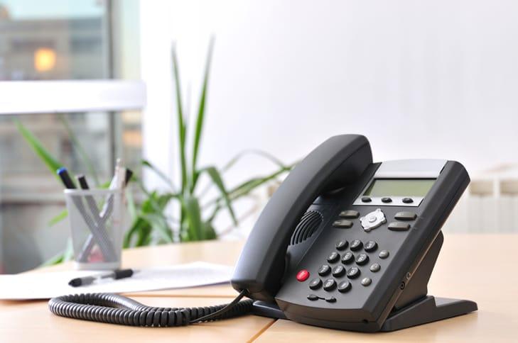 Landline phone hookup