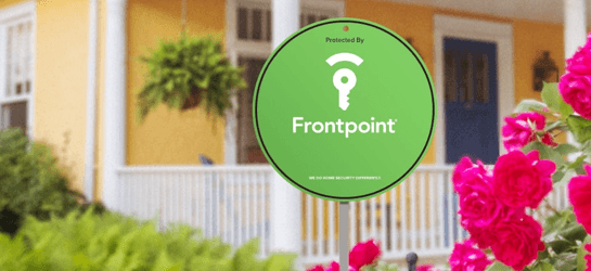 frontpoint sign in yard