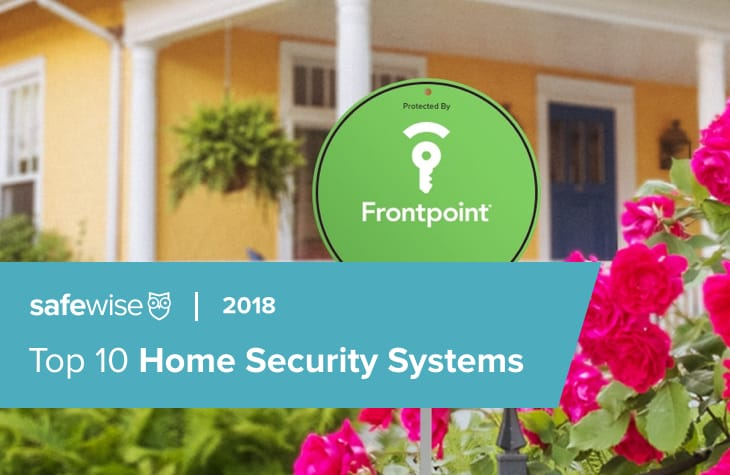safewise 2018 top 10 home security systems