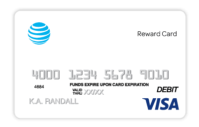 $100 Visa Reward Card.