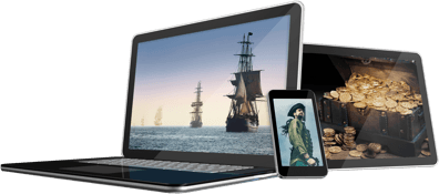 media devices of pirates