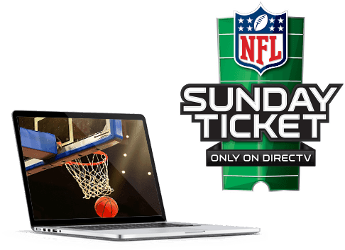 NFL sunday ticket and basketball
