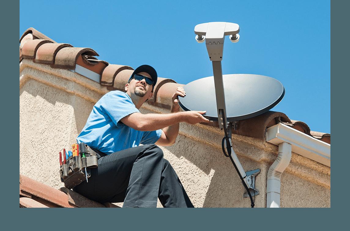 satellite install