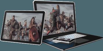 media images of show vikinks