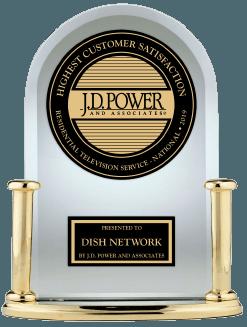 JD Power Dish Network Award