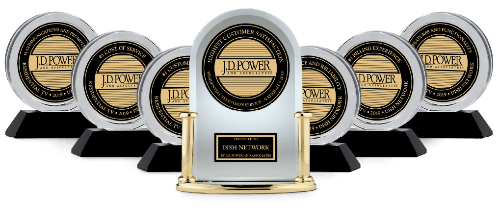 JD Power Dish Network Award