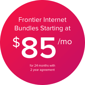Frontier Internet Bundles Starting at $85/mo