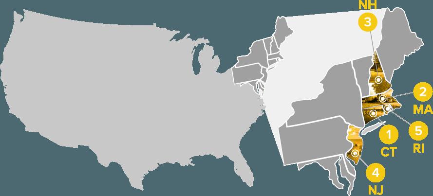 top 5 rural access