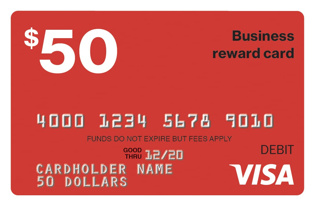Visa Gift Card Icon