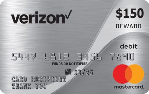 $150 Mastercard