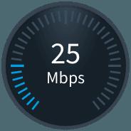 25 Mbps