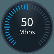 50 Mbps