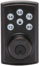 vivint door lock key pad