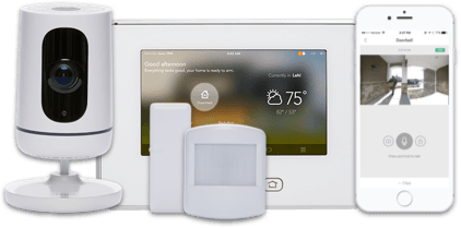 Vivint security system package equipment