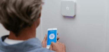 vivint thermostat app