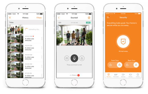 vivint iphone app