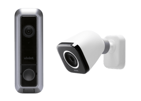 vivint doorbell and outdoor camera