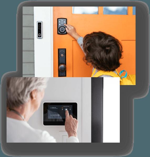 Vivint Keyless Entry Door Lock